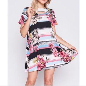 Dresses & Skirts - Printed Shift Dress